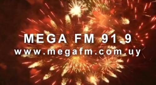 Spot fin de año locutores Mega FM 2017