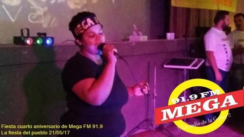Maria Luisa Brum es la ganadora del concurso MEGAVOZ 217 en su segunda edición