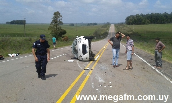 Accidente de tránsito en Ruta 18 Km. 325 9/11/16